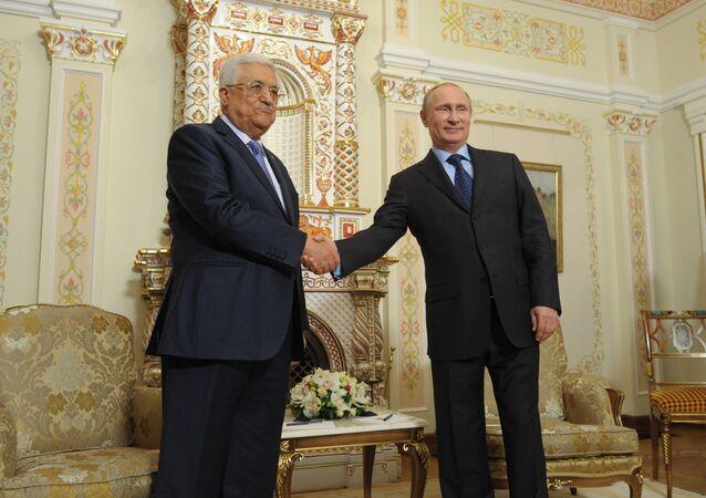 Vladimir Putin & Mahmud Abbas