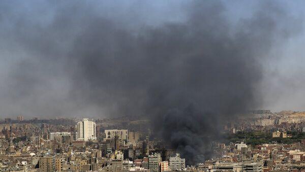 Mısır'da patlama - Sputnik Türkiye