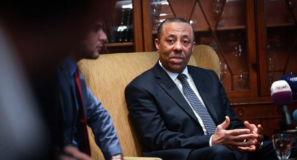 Libya Başbakanı Abdullah Tani
