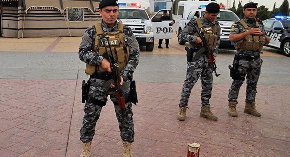 Irak polisi