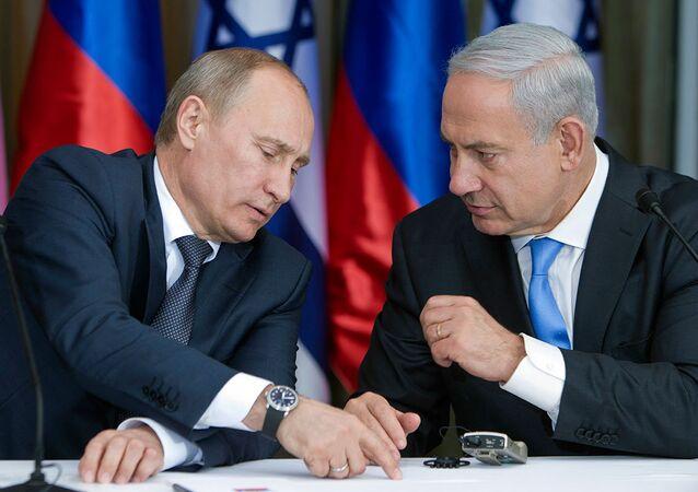 Vladimir Putin & Benyamin Netanyahu