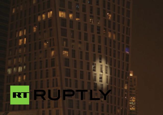 Örümcek Adam Dubai'de tırmandı