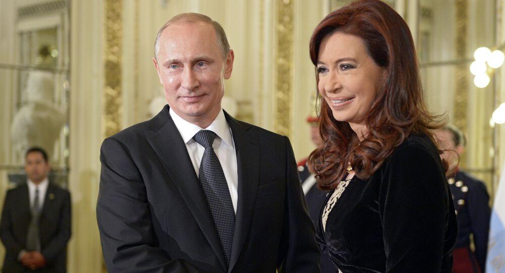 Christina Fernandez de Kirchner & Vladimir Putin