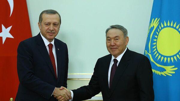 Recep Tayyip Erdoğan & Nursultan Nazarbayev - Sputnik Türkiye