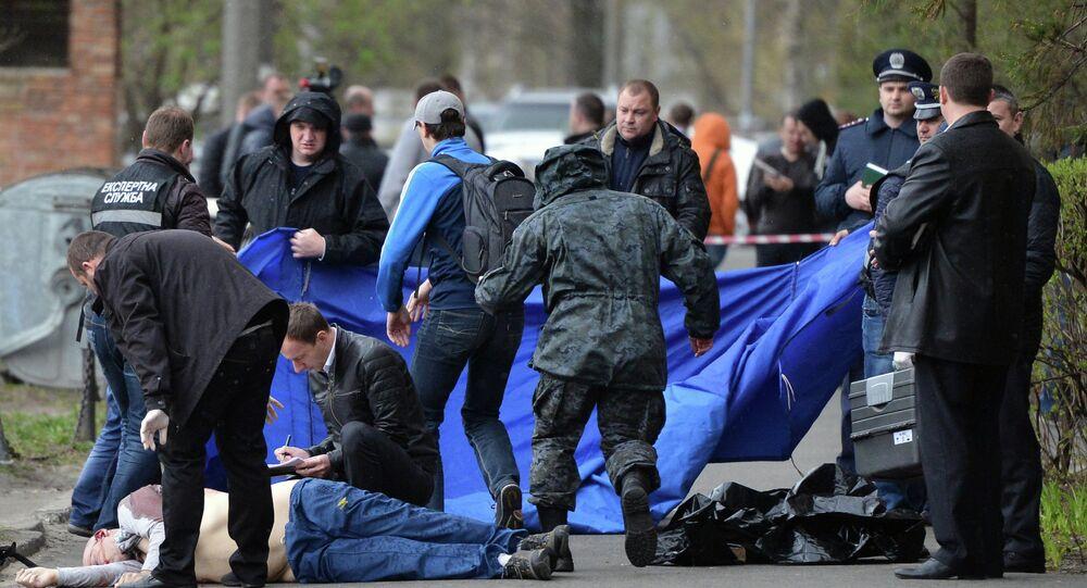 Gazeteci Oles Buzina, Kiev'de öldürüldü