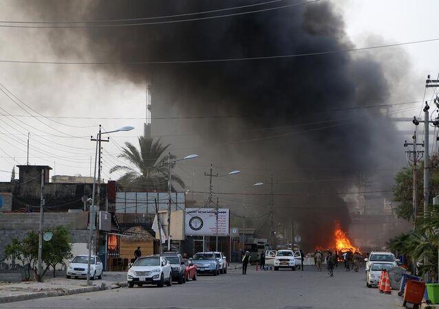Erbil'de patlama