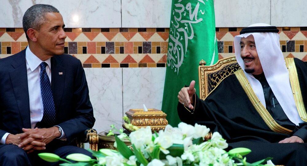 ABD Başkanı Barack Obama - Suudi Arabistan Kralı Selman bin Abdulaziz