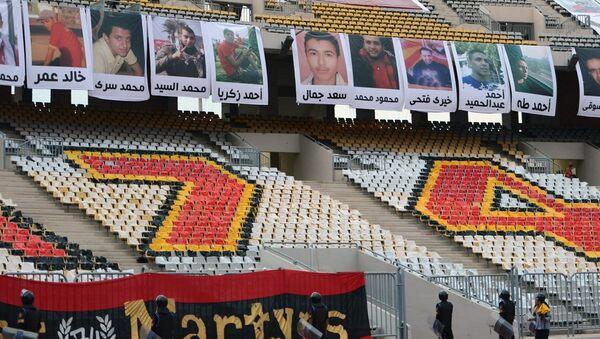 Mısır'da El Masri-El Ahli maçından sonra çıkan olaylar - Sputnik Türkiye