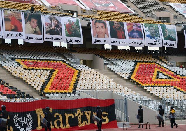 Mısır'da El Masri-El Ahli maçından sonra çıkan olaylar