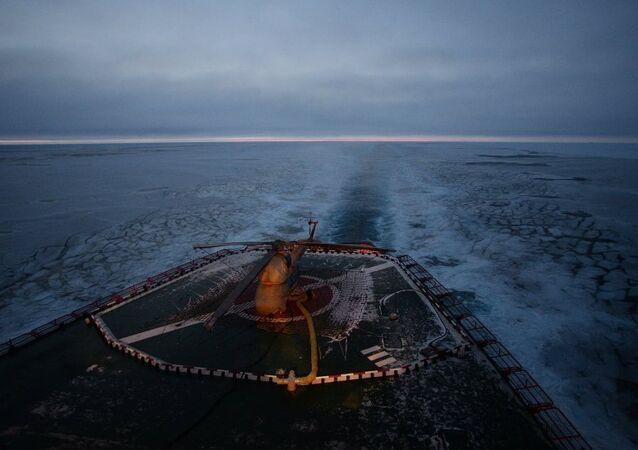 Arktika'da bilimsel araştırmaların yapılacağı yeni yüzen buz istasyonu