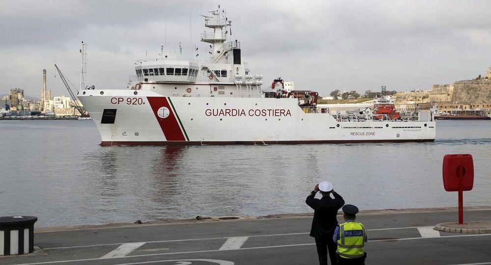 Akdeniz'de batan kaçak göçmen teknesi