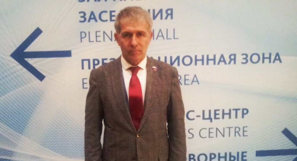 Karadeniz Ekonomik Topluluğu Rusya ulusal Konseyi Türkiye Başkanı Erdoğan Gündüzpolat