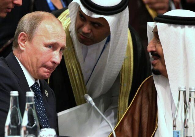 Suudi Arabistan Kralı Selman Bin Abdulaziz el-Suud - Rusya Devlet Başkanı Vladimir Putin