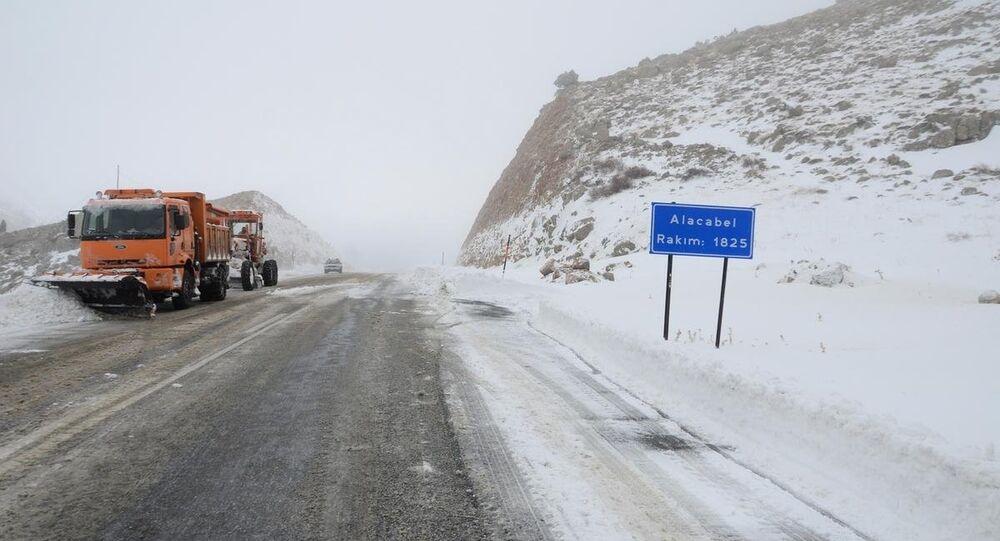 Kar yağışı ve buzlanma