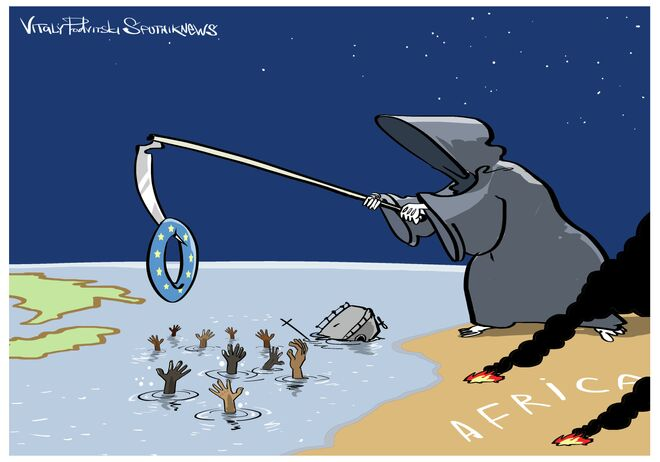 Akdeniz'deki göçmen faciasında 800 ölü
