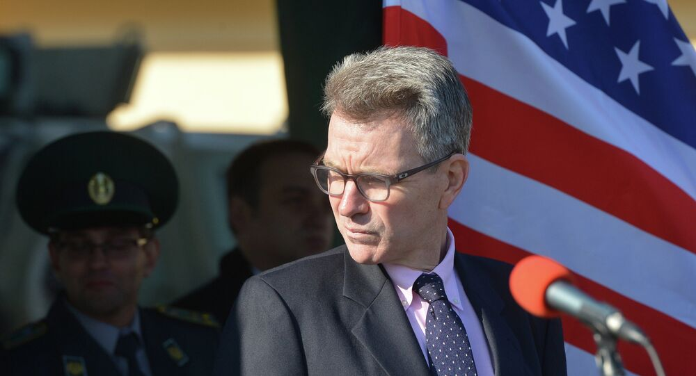 ABD'nin Ukrayna Büyükelçisi Geoffrey Pyatt
