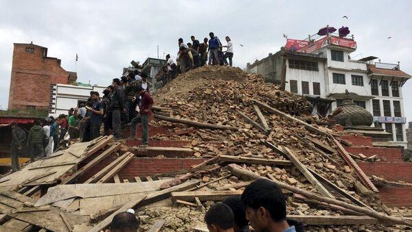 Nepal deprem - Sputnik Türkiye