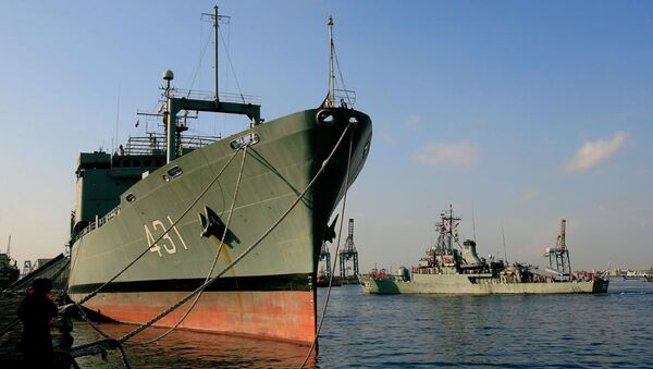 İran savaş gemisi - Sputnik Türkiye