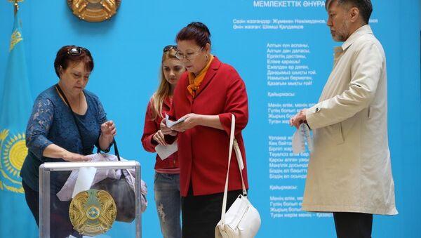 Kazakistan'da devlet başkanı seçimi - Sputnik Türkiye