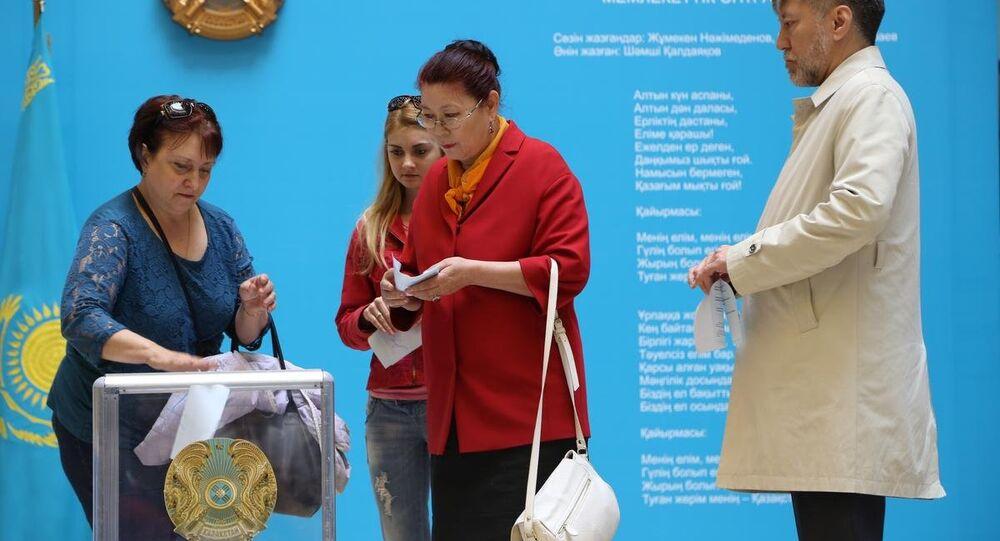Kazakistan'da devlet başkanı seçimi