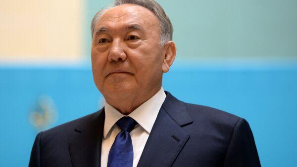 Kazakistan Devlet Başkanı Nursultan Nazarbayev - Sputnik Türkiye