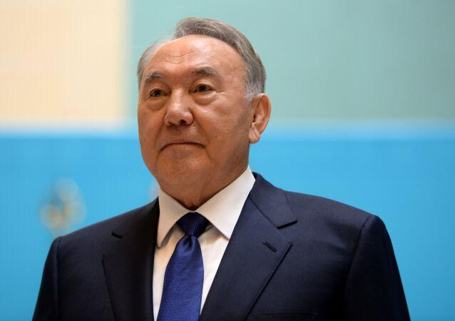 Kazakistan Devlet Başkanı Nursultan Nazarbayev