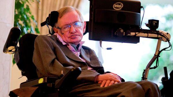 Fizikçi Stephen Hawking - Sputnik Türkiye