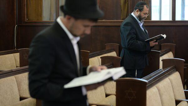 Novosibirsk'teki Yahudi cemaati - Sputnik Türkiye