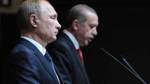Vladimir Putin,  Recep Tayyip Erdoğan - Sputnik Türkiye