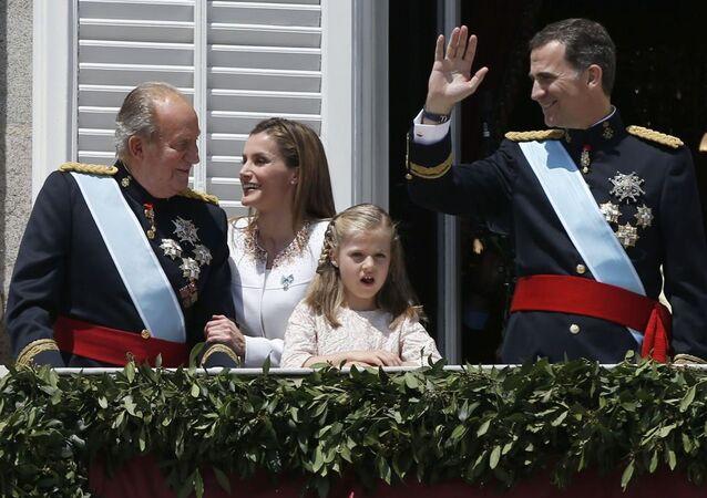 İspanya Kraliyet Ailesi