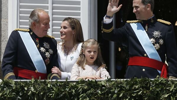 İspanya Kraliyet Ailesi - Sputnik Türkiye
