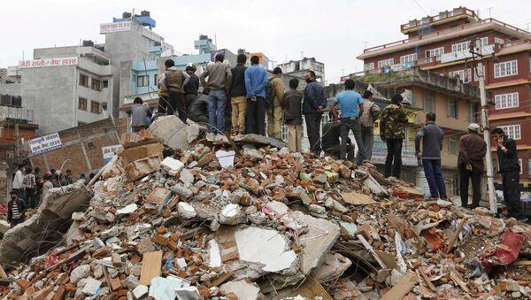 Nepal'deki deprem - Sputnik Türkiye