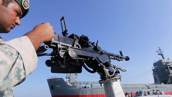 İran askeri - Hürmüz Boğazı'nda askeri tatbikat - Sputnik Türkiye