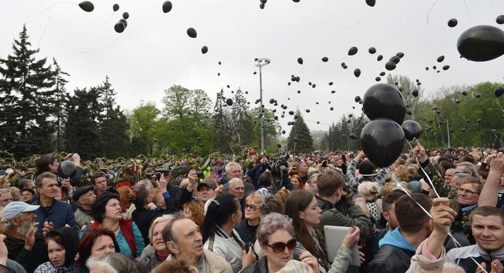 Odessa katliamı anma yürüyüşü