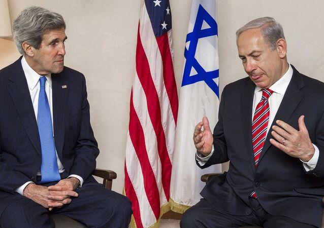 ABD Dışişleri Bakanı John Kerry ve İsrail Başbakanı Benyamin Netanyahu