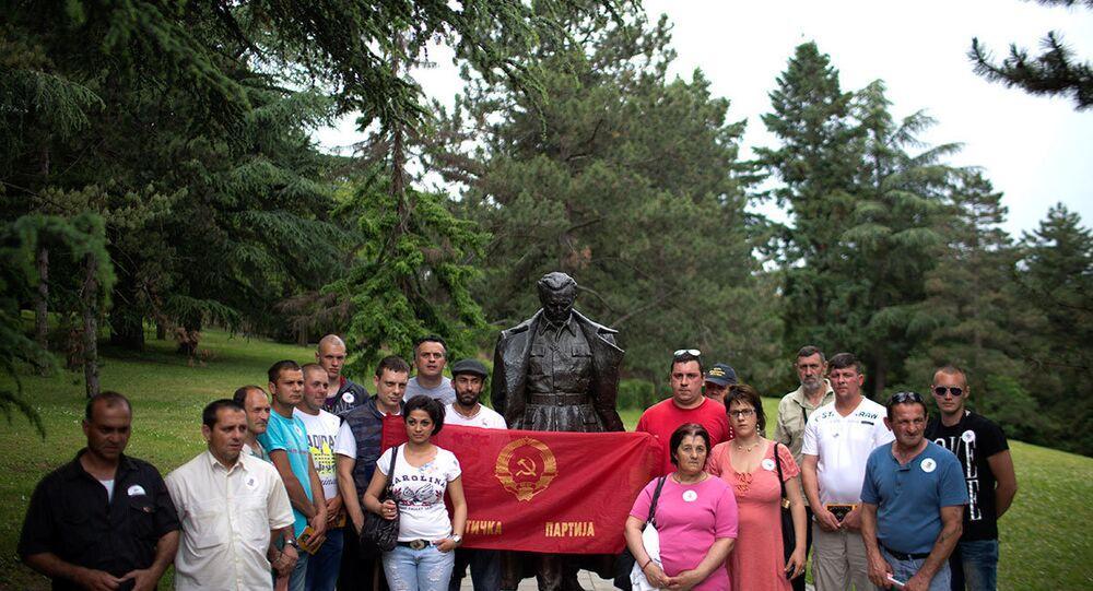 Josip Broz Tito anıldı