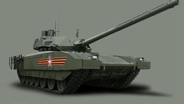 Armata tankı - Sputnik Türkiye
