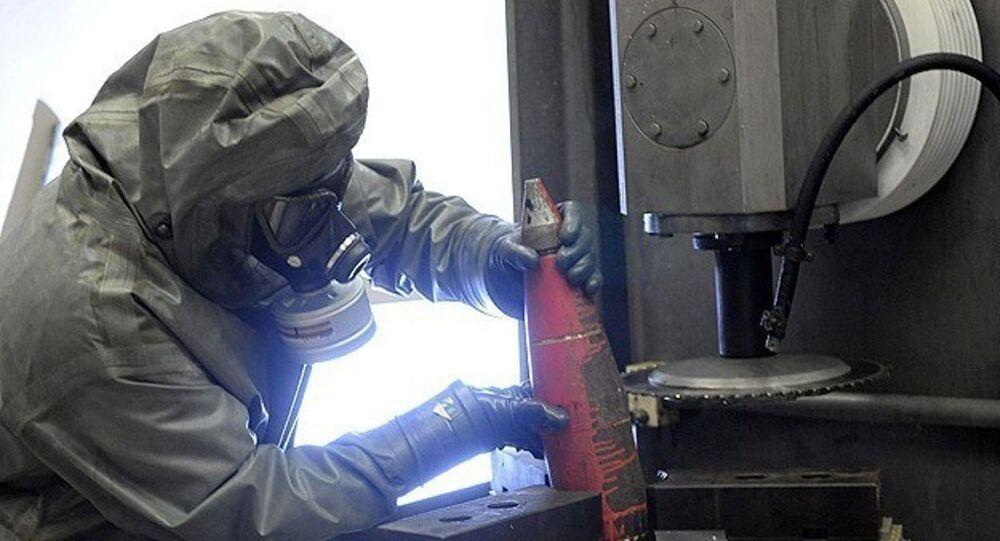 Suriye kimyasal atık