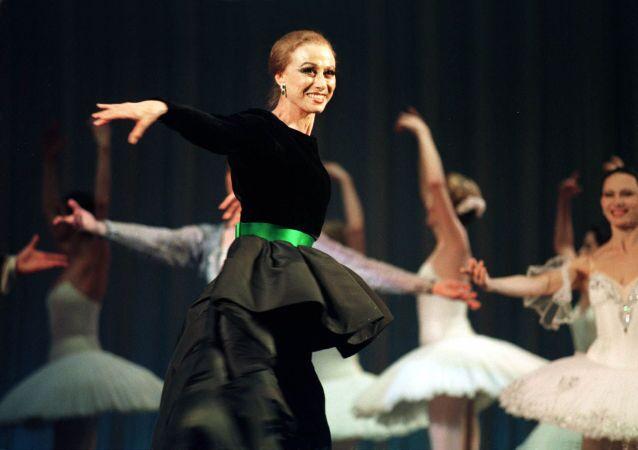 Dünyaca ünlü Rus balerin Maya Plisetskaya