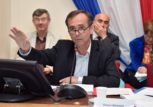 Beziers Belediye Başkanı Robert Menard