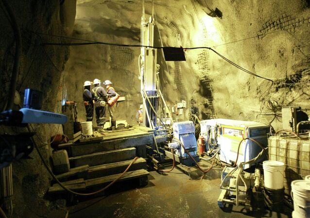 Kırgızistan altın madeni