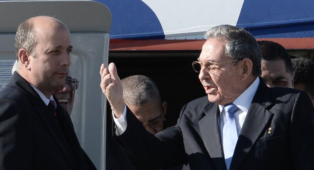Küba Devlet Başkanı Raul Castro