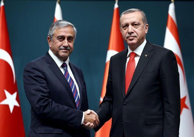 Recep Tayyip Erdoğan & Mustafa Akıncı