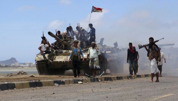 Yemen Husi militanları - Sputnik Türkiye