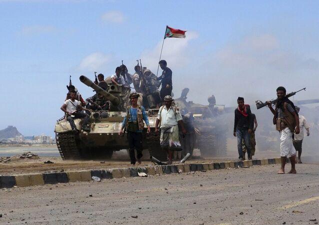 Yemen Husi militanları
