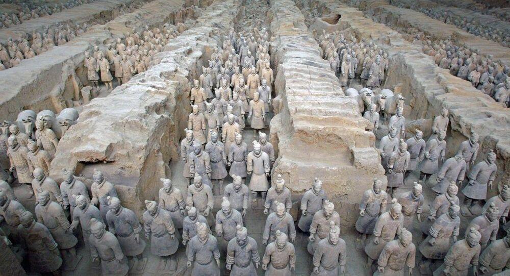 Çin Terra Kotta askerleri