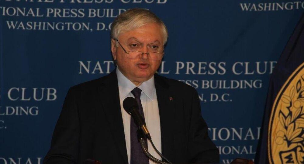 Ermenistan Dışişleri Bakanı Eduard Nalbandyan