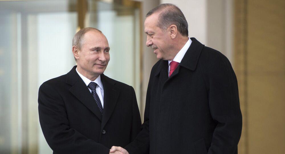Vladimir Putin-Recep Tayyip Erdoğan