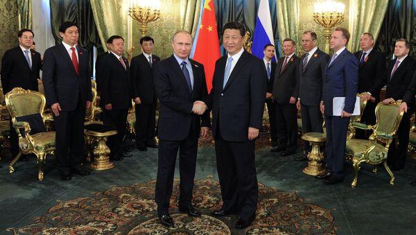 Vladimir Putin & Şi Cinping - Sputnik Türkiye