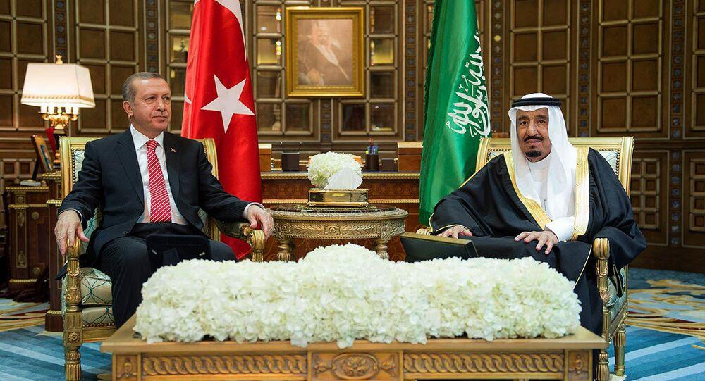 Recep Tayyip Erdoğan & Selman bin Abdülaziz